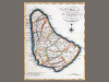 Map of the Island of Barbadoes; for the History of the West Indies