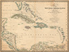Map of the West India & Bahama islands, with the adjacent coasts of Yucatan, Honduras, Caracas, &c.